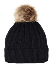 HT1803-1 шапка женская, черная