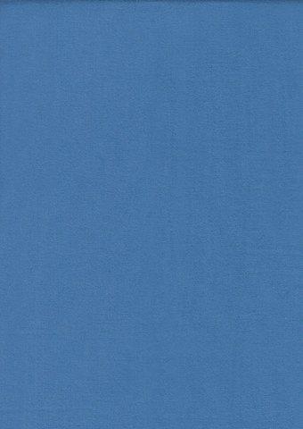 Простыня на резинке 180x200 Сaleffi Tinta Unito с бордюром ярко-голубая