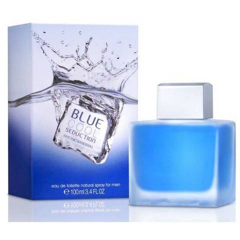 Туалетная вода Antonio Banderas Blue seduction cool (men) 100 ml (clone)