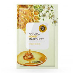 Saem Natural Honey Mask Sheet - Маска тканевая с экстрактом меда