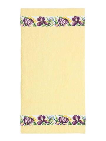 Полотенце 50x100 Feiler Iris желтое