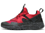 Кроссовки Мужские Nike Air Huarache Utility Red Black