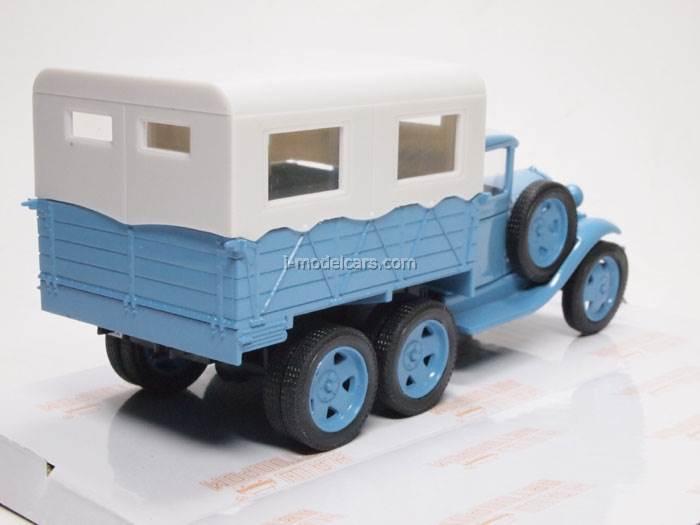 GAZ-AAA Karakum Karakum Desert test motor race blue 1:43 Nash Avtoprom