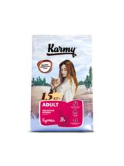 Корм для взрослых кошек, Karmy Adult, в возрасте старше 1 года, с курицей