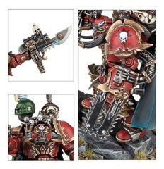 Chaos Space Marines Terminator Lords Cadre. Детали