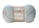 Пряжа Nako Calico серый 10255