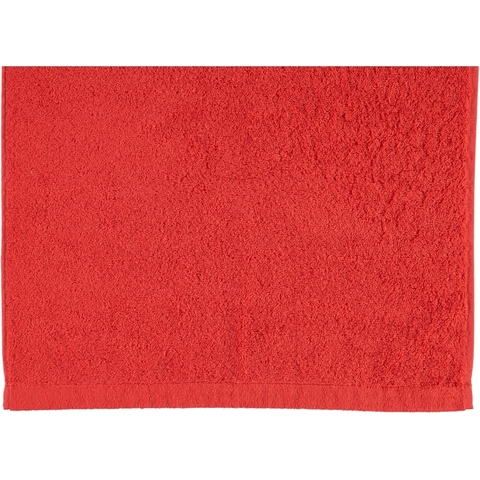 Полотенце 30х50 Cawo Life Style 7007 Uni красное