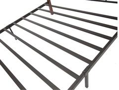 Кровать Канцона 200x120 (Canzona FD 881) Черный/Красный дуб