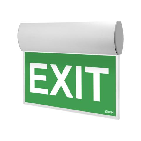 Эвакуационный световой указатель выхода TWINS LED – внешний вид