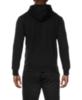 Мужская толстовка с надписями Asics Graphic Hoodie (131467 0904) черная фото