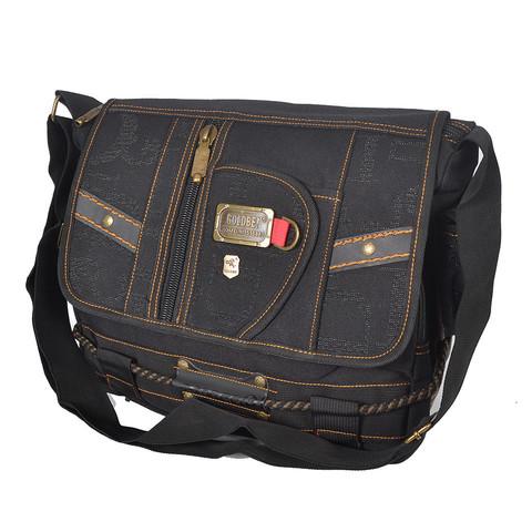 a77604c76926 Практичная мужская сумка через плечо GOLD BE на каждый день