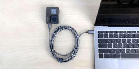Кабель Moshi Integra USB-C to USB-C подключение к ноутбуку