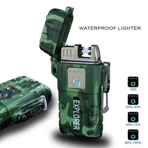 Электронная водонепроницаемая зажигалка Explorer
