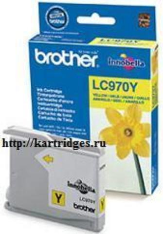 Картридж Brother LC970Y