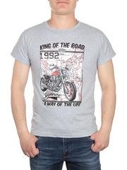 17624-1 футболка мужская, серая