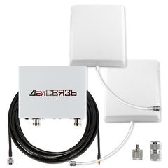 Усилитель сигнала сотовой связи и интернета ДалCвязь DS-900/2100-10C3