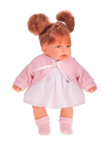 1222P Кукла Дели в розовом, озвуч., 27 см