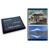 Карманный альбом для открыток с 20 листами на 80 карточек 10х15 см