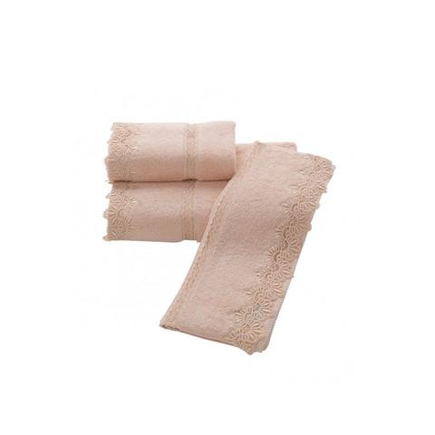Набор махровых салфеток VICTORIA ВИКТОРИЯ 30х50 3шт Soft Cotton (Турция)