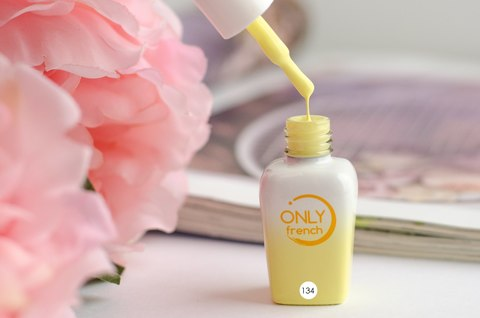 Гель-лак Only French, Yellow Touch №134, 7ml