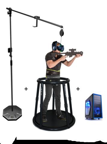 Аттракцион виртуальной реальности WIZDISH 2