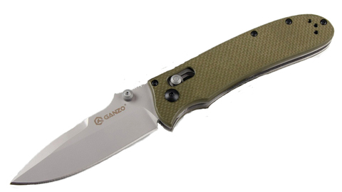 Складной нож Ganzo G704 Зеленый