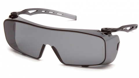 Очки баллистические стрелковые Pyramex Cappture S9920ST Anti-fog Diopter серые 23%