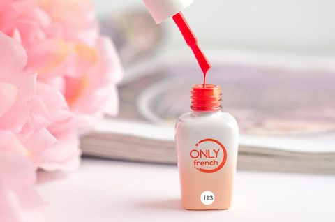 Гель-лак Only French, Orange Touch №113, 7ml