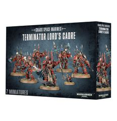 Chaos Space Marines Terminator Lords Cadre. Коробка