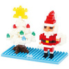 Nanoblock Дед мороз и елка