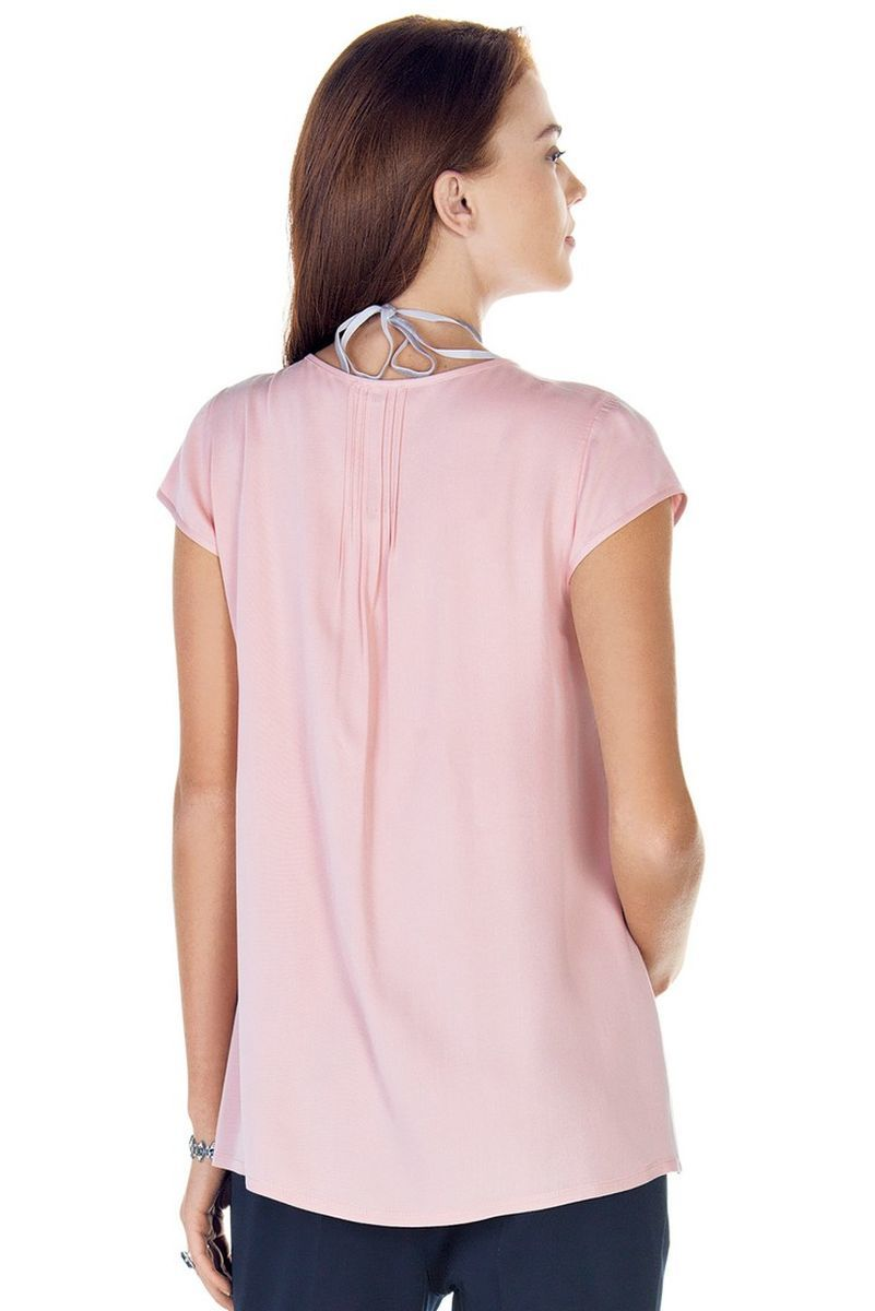 Блузка 09424 розовый