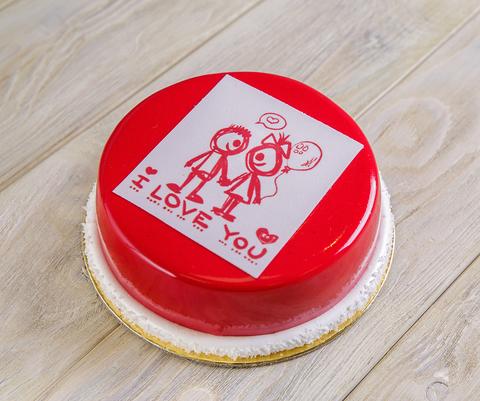 Торт «Love you»- на заказ