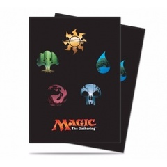 Standard Deck Protector - Magic: The Gathering: Mana 5 Symbols