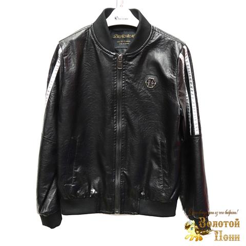 Куртка экокожа мальчику (8-14) 200318-W1921.1
