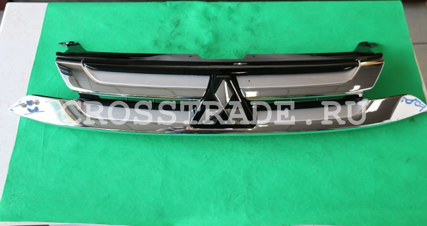 Радиаторная решетка OEM Mitsubishi Parts для Mitsubishi Outlander 2015 - aluminium alloy fabric rear trunk security shield cargo cover for mitsubishi outlander 2013 2014 2015 2016