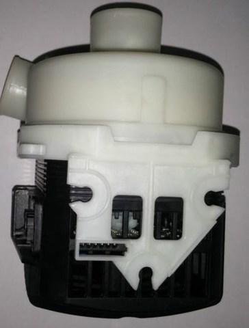 Насос циркуляционный для посудомоечной машины Beko (Беко)/Indesit/Ariston с улиткой в сборе - 1761600100, 1783900300, 1757400300