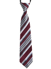 7585-41 галстук бордово-белый
