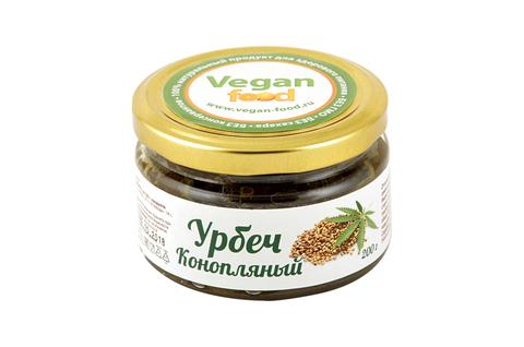 Урбеч из семян конопли Vegan Food, 200 гр
