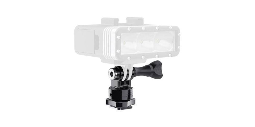 Крепление на фотокамеру SP Hot Shoe Mount с фонарем