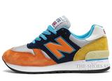 Кроссовки Мужские New Balance 670 Orange Blue Yellow