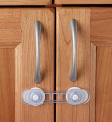 Универсальный mini-замок для дверей Clippasafe CL85, 2 шт./компл