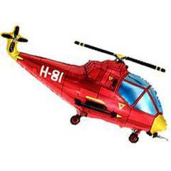 F Мини фигура Вертолёт (красный) / Helicopter (14