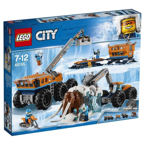 LEGO City: Арктическая экспедиция: Передвижная арктическая база 60195 — Arctic Mobile Exploration Base — Лего Сити Город