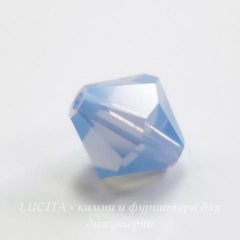 5328 Бусина - биконус Сваровски Air Blue Opal 8 мм ()