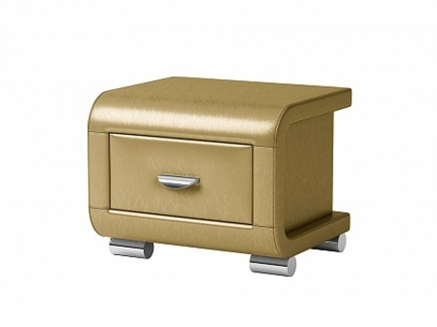 Тумба Орматек Orma Soft 3 Экокожа Золото