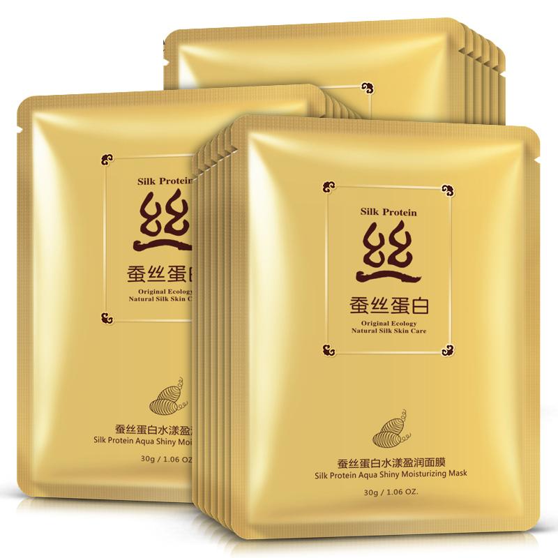 Подтягивающая маска с протеинами шелка Silk Protein, 30гр