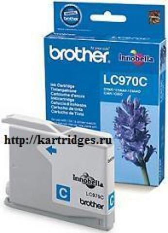 Картридж Brother LC970C