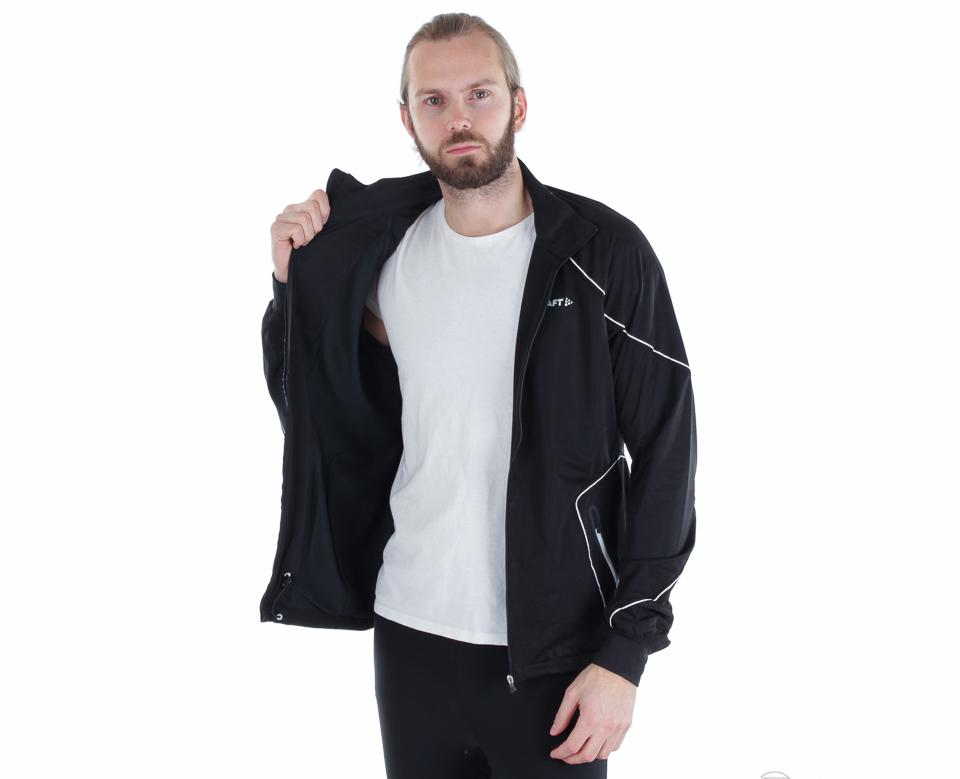 Элитный тренировочный лыжный костюм Craft High Function черный