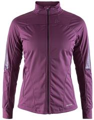 Утепленная ветрозащитная куртка для бега Craft Sharp XC Violet женская