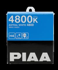 Галогенные лампы PIAA H4 HW201 (4800K) ASTRAL WHITE 60/55W